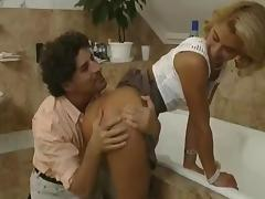 Renata Bussotti - Assfucking&Gaping  in the bathroom