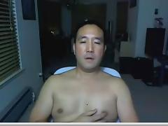 Asian Daddy on webcam again tube porn video