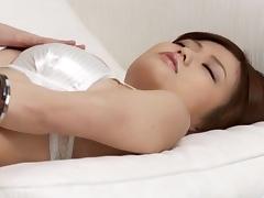 Nao finger fucks her wet pussy in sensual ways