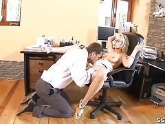 Blonde, Blonde, Lick, Pussy, Muff Diving, Vagina
