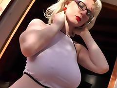 Casey Deluxe - SAXINI Bikini Dance porn tube video