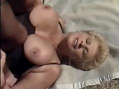 Busty mature joins the party