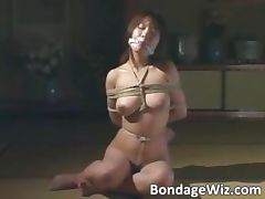 Sweet Asian slut got tied up in ropes part5