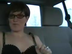 Backseat, Amateur, Anal, Assfucking, Backseat, German