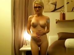 Bedroom, Babe, Bedroom, Big Tits, Blonde, Blowjob