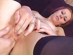 Skinny redhead analized to the max porn tube video