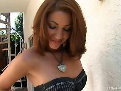 Latina with small titties pleases a handsome hunky man porn tube video