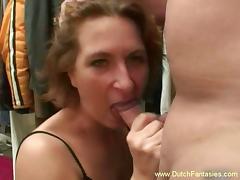 Old Dutch Redhead MILF Fuck tube porn video