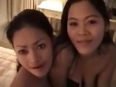 Thai, Asian, Blowjob, Brunette, Group, Hardcore