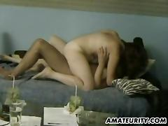 Bouncy stud hammers his two girls thoroughly in an orgasmic threesome