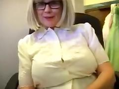 Mother, Aged, Blonde, Fucking, Huge, Juicy