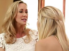 Brandi Love and Tara Morgan at Mommy's Girl tube porn video