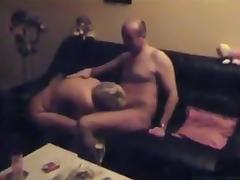 Husband's Friend, Blonde, Blowjob, Friend, Group, Hardcore