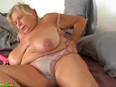 OldNanny Two fat grannies and their big boobs