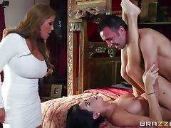 Kianna Dior is drilled doggystyle by Keiran Lee and his big dick tube porn video