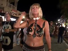 Exhibitionists, Big Tits, Exhibitionists, Flashing, Outdoor, Party