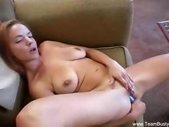 Amateur Redhead Uses Her Dildo Toy porn tube video