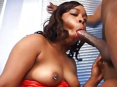 Black booty first time on camera tube porn video