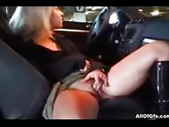 Car, Anal, Assfucking, Blonde, Car, Couple