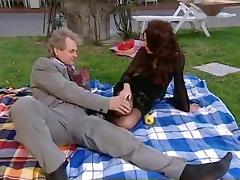 Seduction, Old Man, Outdoor, Seduction, Stockings