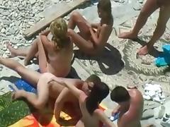 Beach, Amateur, Beach, Couple, Nude, Voyeur