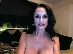 Granny Big Tits, Big Tits, Boobs, Brunette, Dildo, Mature