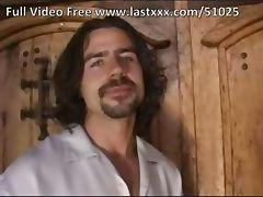 Repair man fucks hot brunette in both holes