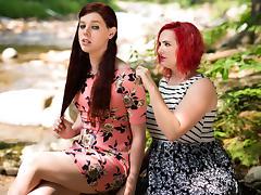 Mz Berlin & Chelsea Poe in TS Bad Girls Video