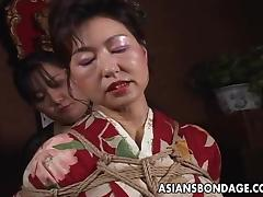 Japanese Mature, Asian, BDSM, Bondage, Bound, Fetish