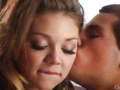 Blonde Jessie Andrews has her hot naked butt showered tube porn video