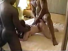 Interracial 3some