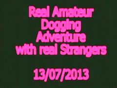 Real amateur dogging adventure with real strangers. my wife loves stranger's jizz !!!