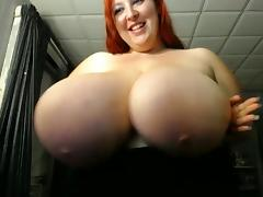 BBW Huge Titties Plays With Toy 4 porn tube video