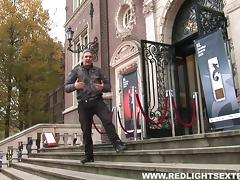 Guy gets a free ride with an Amsterdam hooker and loves it tube porn video