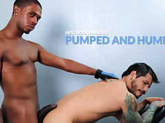 Draven Torres & Krave Moore in Pumped and Humped XXX Video