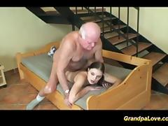lucky day for grandpa porn tube video