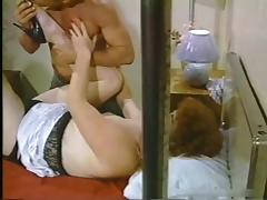 Vintage shemale with a small dong in 69 pose porn tube video