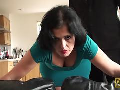 Mature, Asshole, Mature, MILF, Punishment, Rough