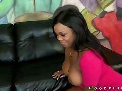 Big tits black girl Jayden Starr is wild