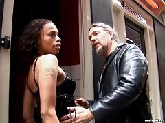 Things gets wild when he hires a leather clad hooker