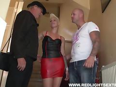 Wildly sexy Dutch hooker in the red light district it paid to fuck tube porn video