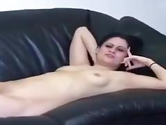Wife, Masturbation, Mature, Nude, Shy, Sofa