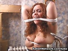 Choking, BDSM, Big Tits, Bondage, Boobs, Bound