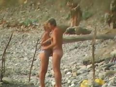 Beach Sex, Amateur, Beach, Blowjob, Public, Voyeur