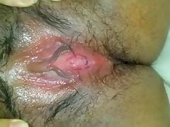 Dude cums 2x in her bbw pussy and then fucks her anally !!!
