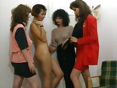 4 Lesbian Girls porn tube video