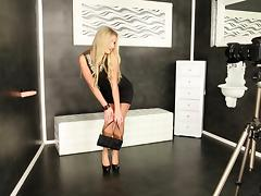 Boots, Blonde, Boots, Fetish, Glamour, Heels