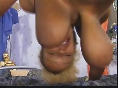Ebony with huge hooters porn tube video