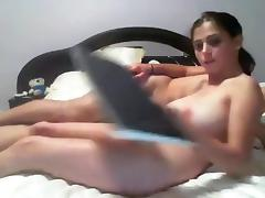 Breasty cutie makes a sextape with her fellow