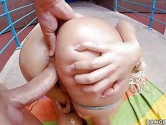 Blondie Fesser rammed in juicy pussy